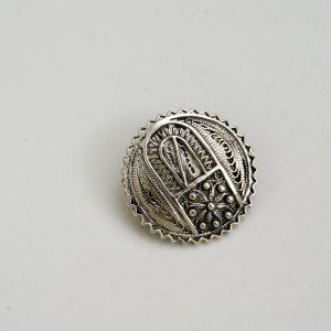 silver brooche