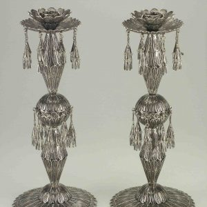 STERLING SILVER CANDLESTICK