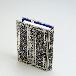 STERLING SILVER TEHILIM COVER